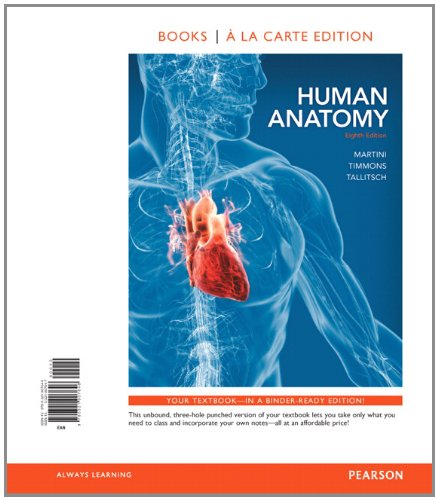 9780321909954: Human Anatomy, Books a la Carte Plus MasteringA&P with eText -- Access Card Package (8th Edition)
