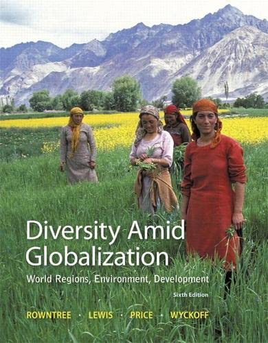 9780321910066: Diversity Amid Globalization: World Regions, Environment, Development (6th Edition)