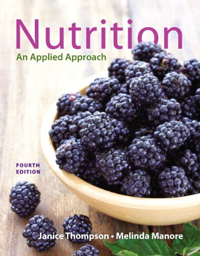 NUTRITION:APPLIED APPROACH: THOMPSON