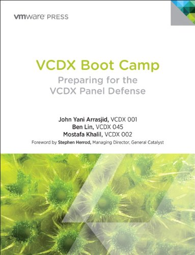 9780321910592: VCDX Boot Camp: Preparing for the VCDX Panel Defense (VMware Press Technology)