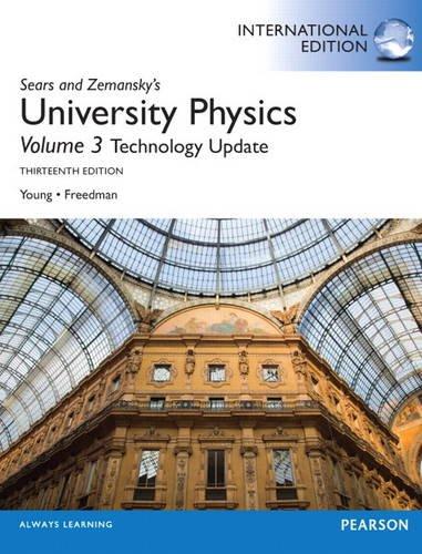 9780321911001: University Physics with Modern Physics Technology Update, Volume 3 (Chs. 37-44): International Edition