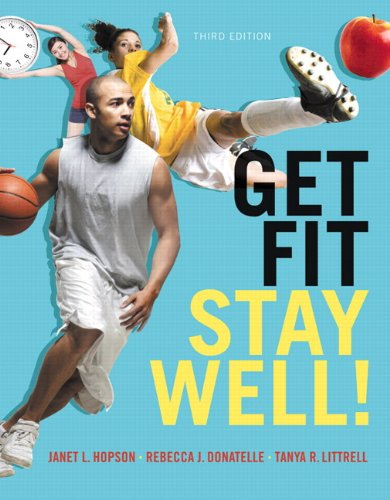 9780321911841: Get Fit, Stay Well! Plus MasteringHealth with eText -- Access Card Package (3rd Edition)