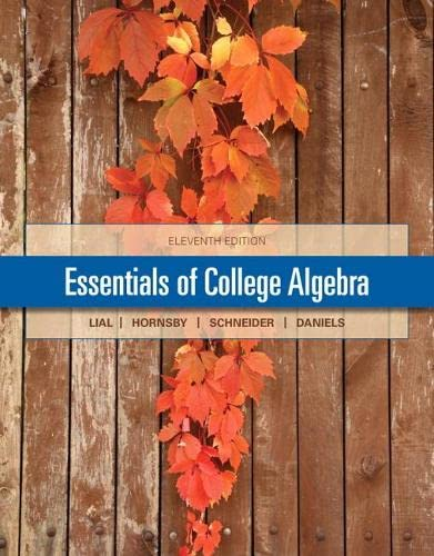 9780321912152: Essentials of College Algebra with MyMathLab Pearson eText Access Card