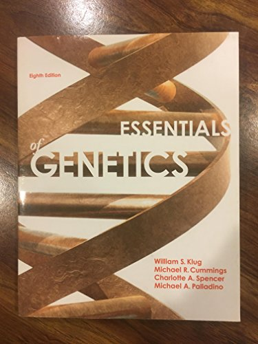 9780321912596: Essentials of Genetics Plus Study Guide and Solutions Manual (8th Edition)