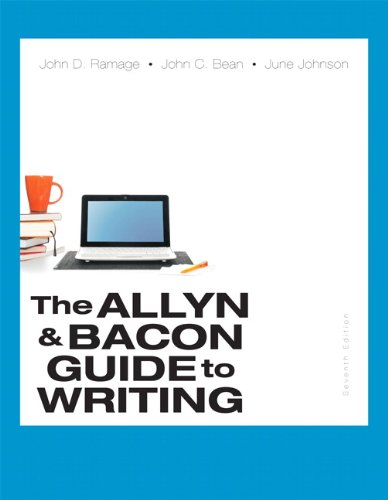 9780321914224: The Allyn & Bacon Guide to Writing (7th Edition)