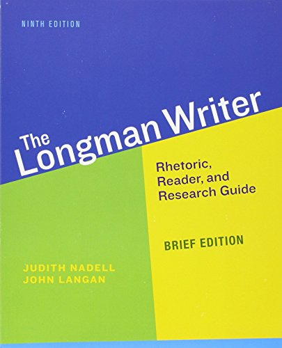 9780321914330: Longman Writer, The, Brief Edition