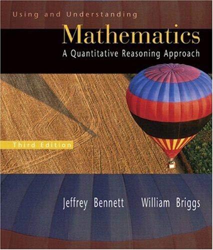 9780321915290: Using and Understanding Mathematics a Quantitative Reasoning Approach