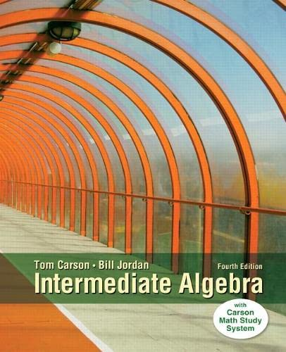 9780321915870: Intermediate Algebra (4th Edition)