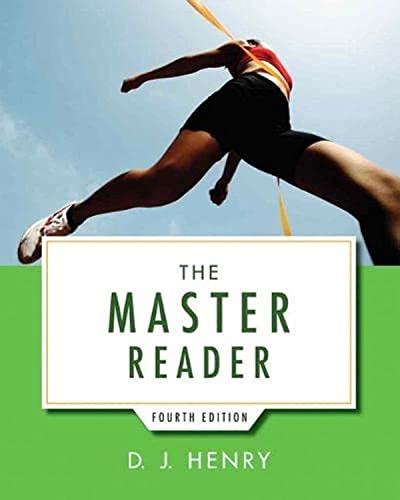 The Master Reader (4th Edition): Henry, D. J.