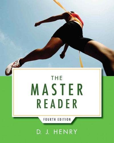 9780321916778: The Master Reader (4th Edition)