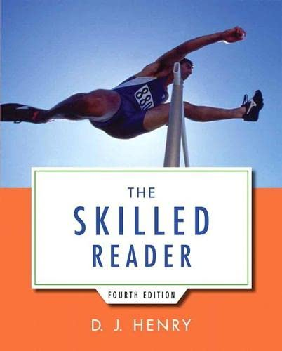 9780321917829: The Skilled Reader (4th Edition)