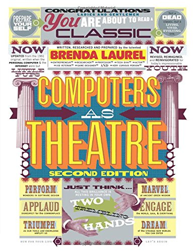 9780321918628: Computers as Theatre (2nd Edition)