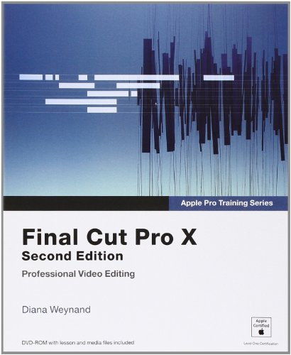 9780321918673: Final Cut Pro X