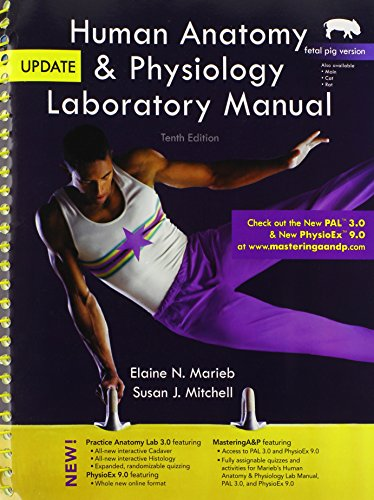 9780321918895: Human Anatomy & Physiology Laboratory Manual, Fetal Pig Version, Update (10th Edition) (The Benjamin Cummings Series in Human Anatomy & Physiology)