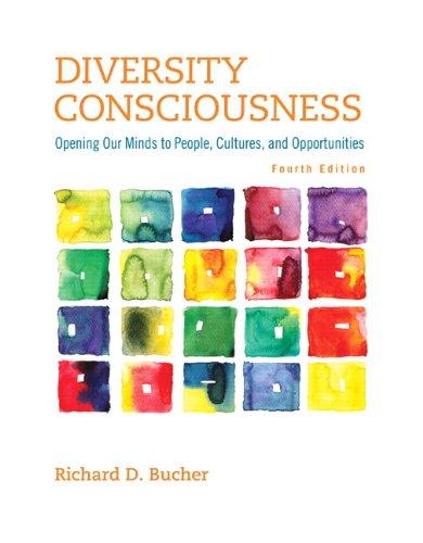 Diversity Consciousness Format: Paperback: Bucher, Richard D.