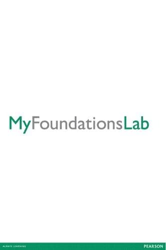 9780321919243: MyFoundationsLab without Pearson eText for Student Success -- Standalone Access Card (10-week access)