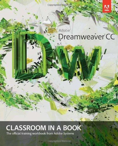 9780321919410: Adobe Dreamweaver CC Classroom in a Book