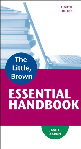 9780321920324: Little, Brown Essential Handbook (8th Edition)