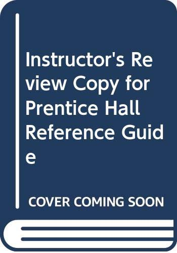 9780321921321: I.e. Prentice Hall Reference Guide 9th.edition