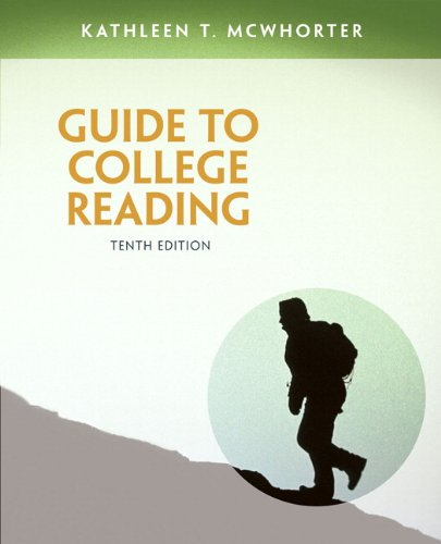 9780321921451: Guide to College Reading (10th Edition)