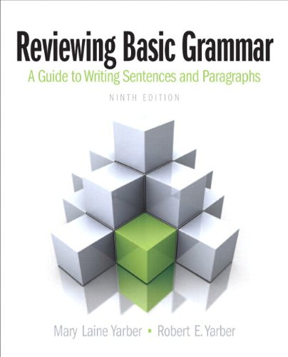 9780321921512: Reviewing Basic Grammar Plus MyWritingLab with eText -- Access Card Package (9th Edition)