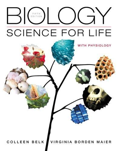 9780321922212: Biology: Science for Life with Physiology (5th Edition)