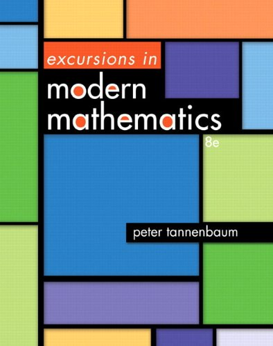 Excursions in Modern Mathematics Plus NEW MyMathLab with Pearson eText -- Access Card Package (8th ...