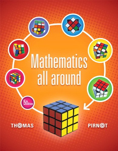 9780321923264: Mathematics All Around Plus NEW MyMathLab with Pearson eText -- Access Card Package (5th Edition)