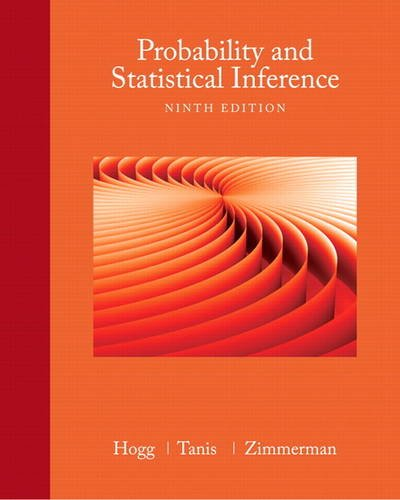 9780321923271: Probability and Statistical Inference (9th Edition)