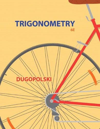 9780321923486: Trigonometry (4th Edition)