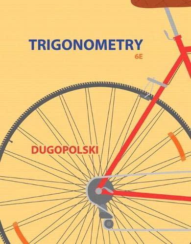 9780321923486: Trigonometry (4th Edition)
