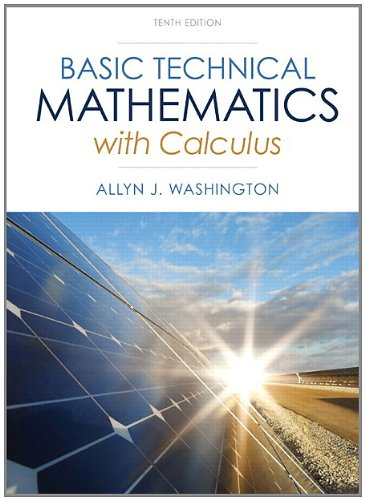 9780321924049: Basic Technical Mathematics with Calculus Plus NEW MyMathLab with Pearson eText -- Access Card Package (10th Edition) (Washington Technical Mathematics)
