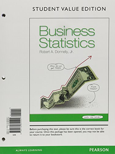 9780321924414: Business Statistics, Student Value Edition plus MyStatLab with Pearson eText -- Access Card Package