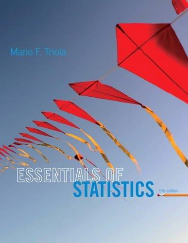 9780321924599: Essentials of Statistics
