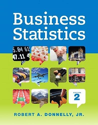 9780321925121: Business Statistics (2nd Edition)