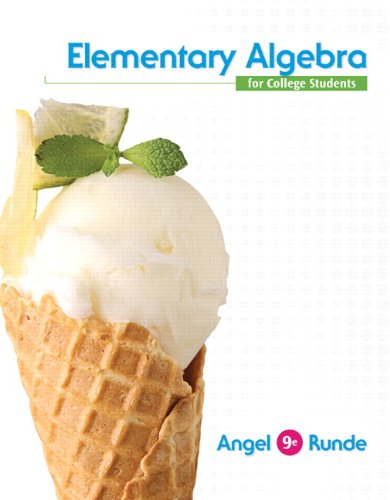 Elementary Algebra For College Students Books a: Allen Angel