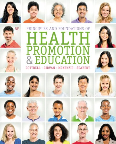 9780321927149: Principles and Foundations of Health Promotion and Education (6th Edition)