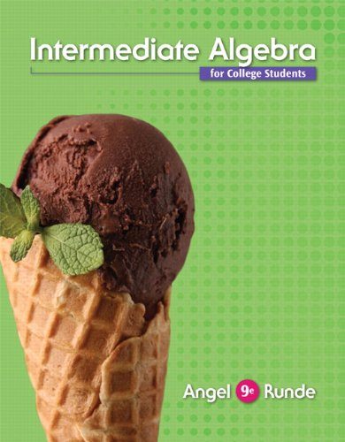 Intermediate Algebra for College Students Plus NEW MyMathLab with Pearson eText -- Access Card ...