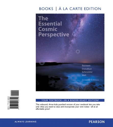 9780321928399: Essential Cosmic Perspective, The, Books a la Carte Edition (7th Edition)