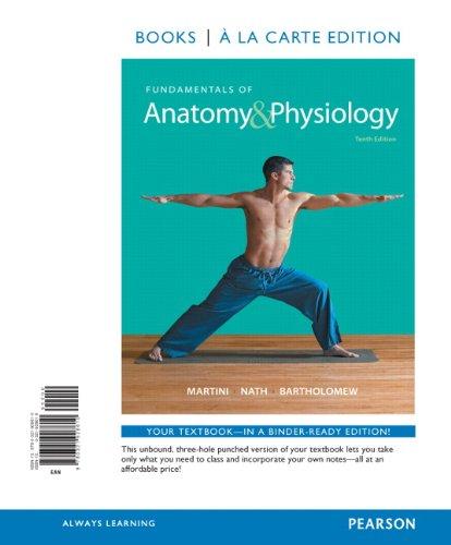 9780321928610: Fundamentals of Anatomy & Physiology, Books a la Carte Edition (10th Edition)