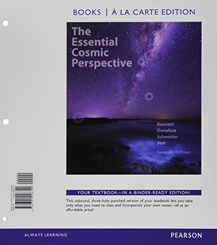 Essential Cosmic Perspective, The, Books a la: Bennett, Jeffrey O.,