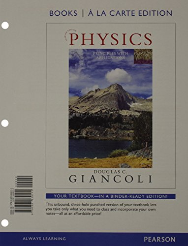 9780321929013: Physics: Principles with Applications, Books a la Carte Plus MasteringPhysics with eText -- Access Card Package (7th Edition)