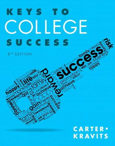 9780321929242: Keys to College Success (8th Edition) (Keys Franchise)