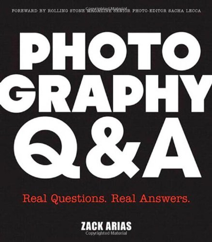 9780321929501: Photography Q&A: Real Questions. Real Answers (Voices That Matter)