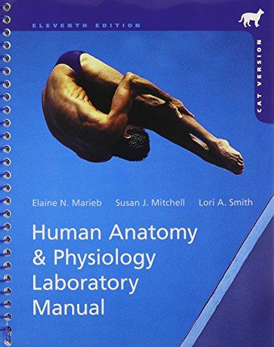 Human Anatomy & Physiology Laboratory Manual, Cat: Marieb, Elaine N.,
