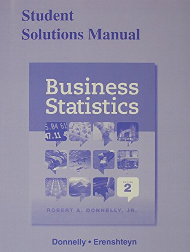 9780321930705: Student Solutions Manual for Business Statistics