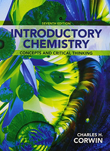 9780321931986: Introductory Chemistry: Concepts and Critical Thinking & Modified MasteringChemistry with Pearson eText -- ValuePack Access Card -- for Introductory ... Concepts and Critical Thinking (7th Edition)