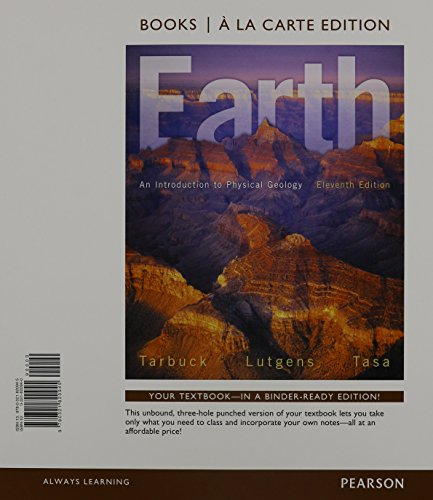 9780321932587: Earth: An Introduction to Physical Geology, Books a la Carte Edition & Modified MasteringGeology with Pearson eText -- ValuePack Access Card -- for Earth: An Introduction to Physical Geology Package