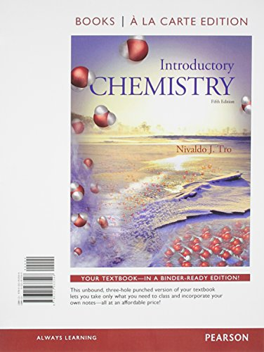 9780321933546: Introductory Chemistry, Books a la Carte Edition (5th Edition)