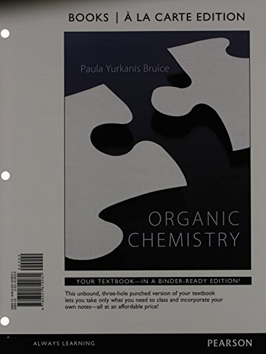 9780321933805: Organic Chemistry, Books a la Carte Plus MasteringChemistry with eText -- Access Card Package (7th Edition)